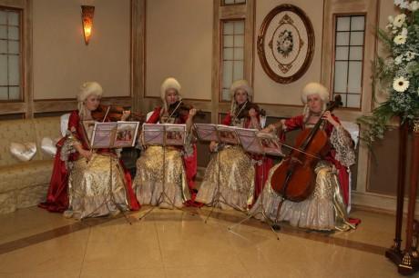 Музыканты в свадебном зале
