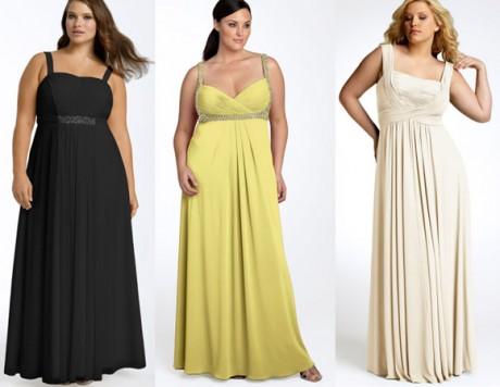 Одежда на свадьбу для полных