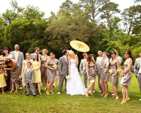 Оформление свадьбы в серебряном цвете