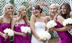 Оформление свадьбы – яркая фуксия