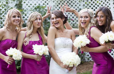 Оформление свадьбы в цвете фуксии