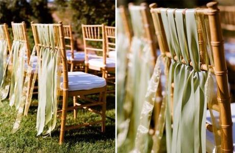 Оригинальное оформление стульев
