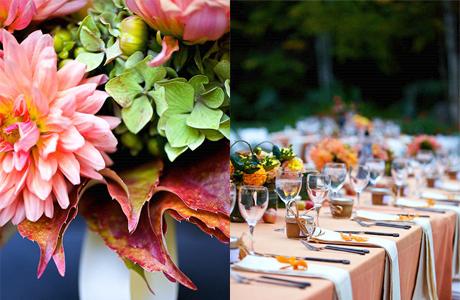 Осенняя свадьба: идеи