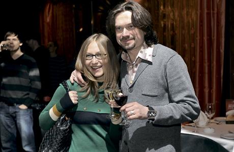 Остап Ступка и жена Ирина