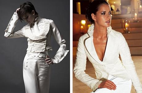 Свадебный пиджак для невесты