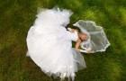 Платье с лепестками