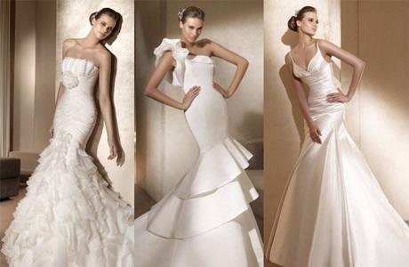 Платье-русалка всегда актуально