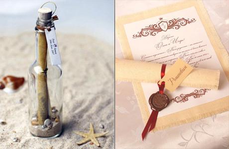 Морская ретро-свадьба