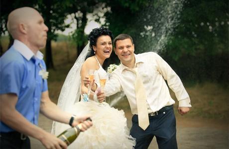 За родителей жениха