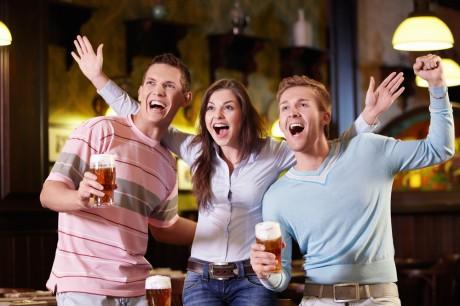 Спорт-бар для знакомства