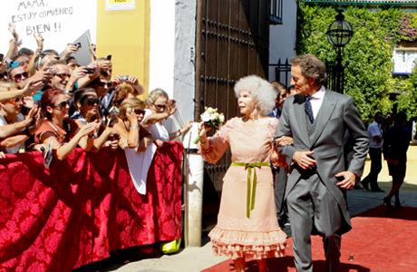 Свадьба Герцогини Альбы и служащего