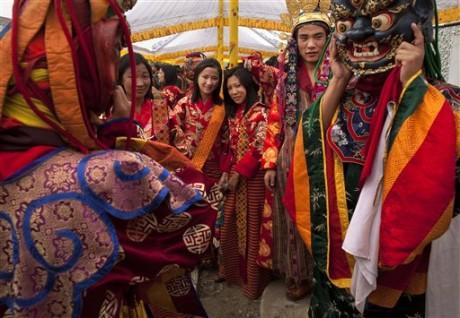 Свадьба в лучших традициях буддизма