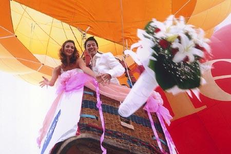 Свадьба на шаре