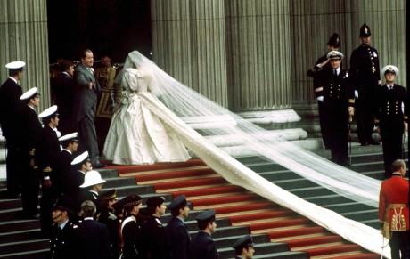 Свадебное платье леди Ди