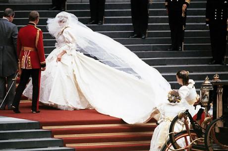 Свадебное платье Принцессы Дианы