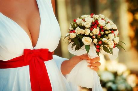 Свадебный букет от флориста