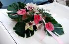 Свадебный кортеж зимой