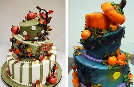 Торт в форме цилиндра