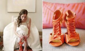 Туфли-напоминалка о дне свадьбы