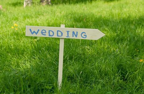 Оформление свадьбы в салатовом цвете