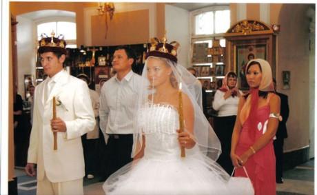 Церемония венчание