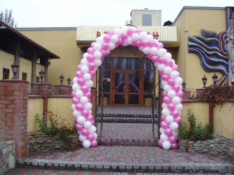 Воздушная свадебная арка своими руками