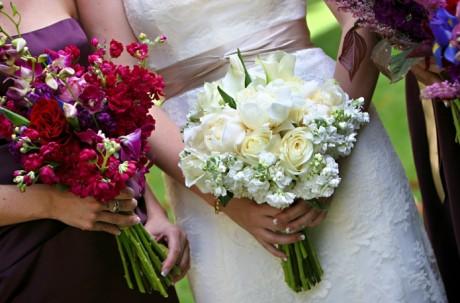 Цветы на свадьбе