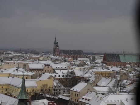 Зимний медовый месяц в Кракове