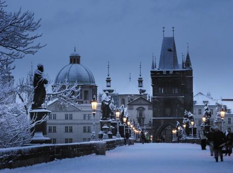 Зимний медовый месяц в Праге