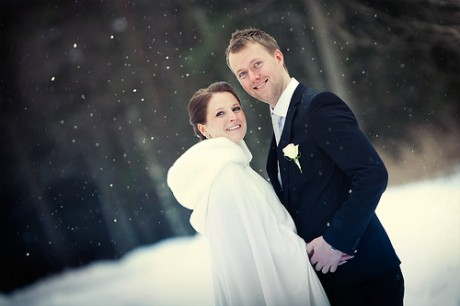 Зимняя свадьба - свадебные аксессуары