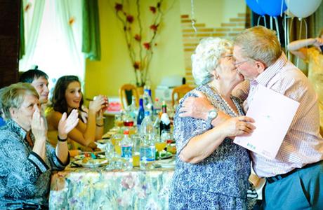 Золотая свадьба - празднование