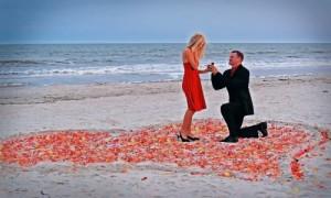 Попросить ее выйти замуж