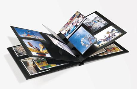 Альбом с фотографиями поможет