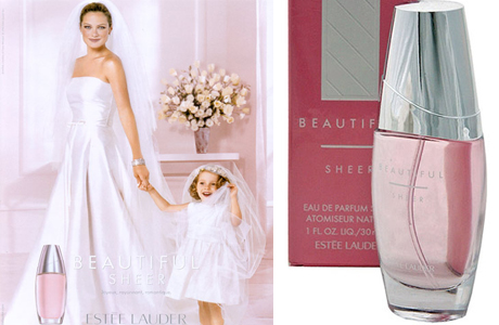 Духи для современной невесты Estee Lauder Beautiful Sheer