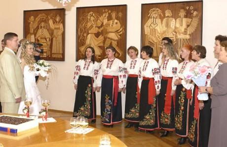Белорусская свадьба - бракосочетание