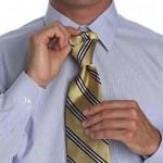 У тебя получится вот такой аккуратный малый узел галстука