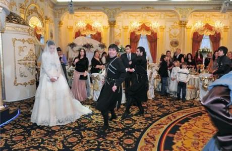 Свадьба по чечески
