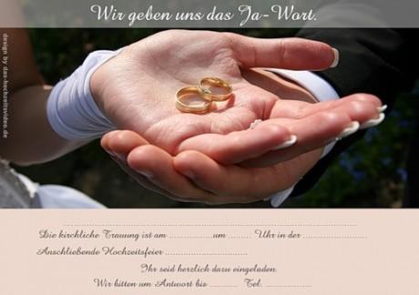Электронное приглашение на свадьбу: шаблоны