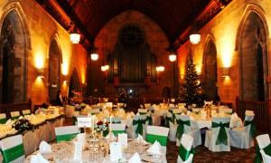 Новогодняя свадьба в ресторане