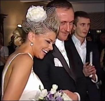 Ирина Блохина и Сергей Ларькин на свадьбу