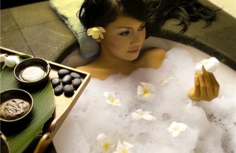 Поможет теплая ванна