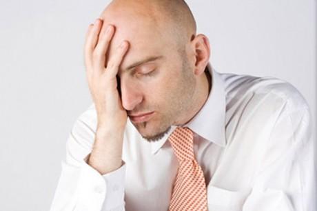 Утреннее похмелье - боль головы