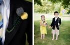 Как сделать свадебную бутоньерку для малыша из шерстяной пряжи