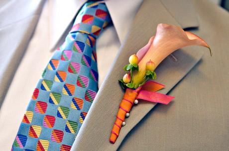 Новогодние костюмы для женихов: галстук