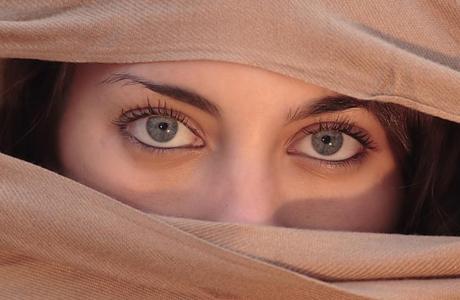 Свадебный макияж - красивые глаза