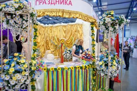 Красота свадебной флористики - свадебная выставка