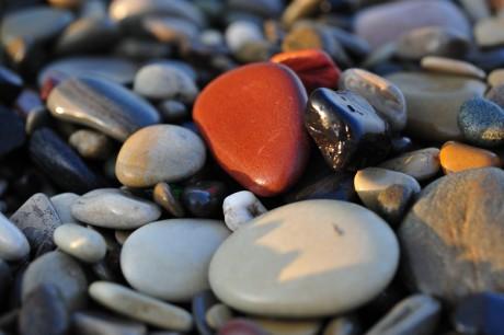 Медовый месяц по фэн-шуй: морские камешки
