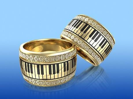 Обручальное кольцо: оригинальный дизайн