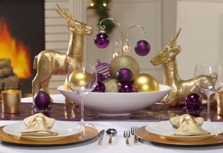 Новогоднее оформление свадебных столов