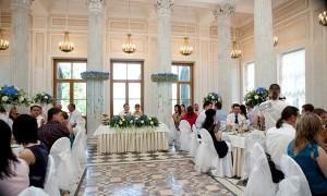 Рассадка гостей за свадебным столом